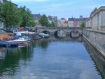 Cityscape of Copenhagen, Denmark Stock Images