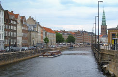 Cityscape of Copenhagen, Denmark Royalty Free Stock Photography
