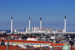 Cityscape of Copenhagen Royalty Free Stock Photography