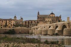 Cityscape of Cordoba, Spain royalty free stock photo
