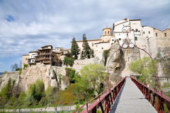 Cityscape Cuenca, Spain Stock Images