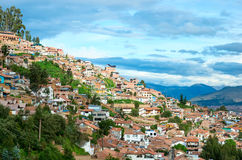 Cityscape of Cusco , Peru Stock Photo