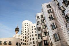 Cityscape in Düsseldorf Stock Images