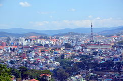 Cityscape of Dalat, Vietnam Stock Photography