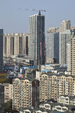 "Cityscape of Dalina, China. DALIAN-NOV. 1. The cityscape of Dalian. With 1700 people per square KM Dalian ranked 33 on the list ""Largest cities in the world Stock Photo"