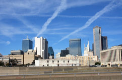 Cityscape in Dallas Royalty Free Stock Photos