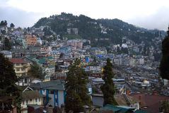 Cityscape, Darjeeling, West Bengal, India Stock Photos