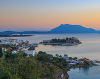 Cityscape of datca, mugla in Turkey. Royalty Free Stock Photography