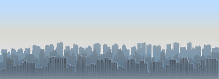 Cityscape at day Royalty Free Stock Photography