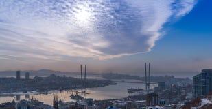 Cityscape, daylight. Royalty Free Stock Image