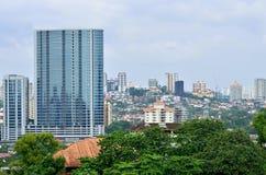 Cityscape. Daytime view of Kuala Lumpur cityscape Royalty Free Stock Photo
