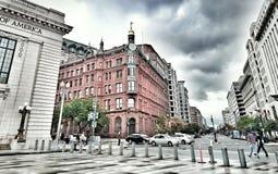 Cityscape in DC. My favorite corner in DC Stock Photo