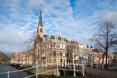 Cityscape of Delft. Royalty Free Stock Photo