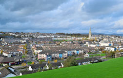 Cityscape in Derry, Northern Ireland. Royalty Free Stock Photos