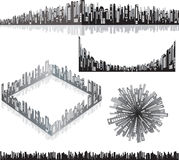 Cityscape design Stock Images