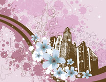 Cityscape design series Royalty Free Stock Photography