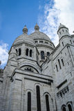 Cityscape with the details of the church, Paris, France Stock Image