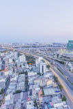 Cityscape and Dien Bien Phu street of Ho Chi Minh city Stock Image