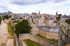 Cityscape of Dinan Stock Photography