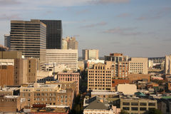 Cityscape in downtown New Orleans Stock Images