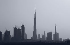 Cityscape of Dubai Royalty Free Stock Image