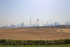 Cityscape of Dubai Stock Images