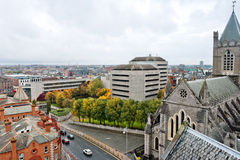 Cityscape of Dublin. Ireland Royalty Free Stock Image