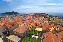 Cityscape of Dubrovnik Stock Photography