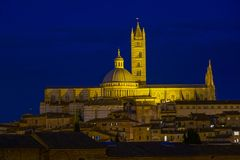 Cityscape of Siena, Italy Royalty Free Stock Images