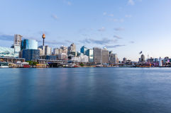 Cityscape at dusk. Sydney, Australia Royalty Free Stock Photography