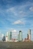 Cityscape of the Dutch city Rotterdam Stock Photography