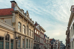 Cityscape of the Dutch historic town Hoorn Royalty Free Stock Photography
