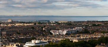 Cityscape of Edinburg city, Scotland UK Stock Image