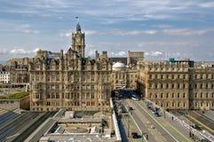 cityscape edinburgh Royaltyfria Bilder