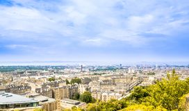 Cityscape of Edinburgh - the capital of Scotland. View on Cityscape of Edinburgh - the capital of Scotland Royalty Free Stock Images