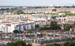 Cityscape of Edinburgh Stock Images