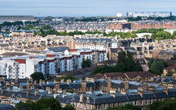 Cityscape of Edinburgh, Scotland Stock Photo