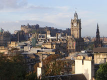 Cityscape of Edinburgh Stock Photo