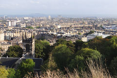 Cityscape of Edinburgh Royalty Free Stock Photo