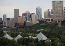 Cityscape Of Edmonton Alberta Stock Photography