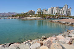 Cityscape of Eilat, Israel Royalty Free Stock Photo