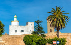 Cityscape of El Jadida town in Morocco. North Africa stock image