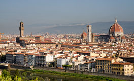Cityscape of Florence Stock Images