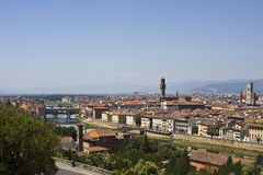 Cityscape of Florence Stock Photography