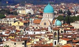 Cityscape Florence stock photo