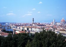 Cityscape, Florence, Italië. stock afbeelding