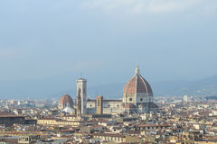 Cityscape of Florence, Italy Royalty Free Stock Image