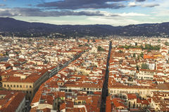 Cityscape of Florence, Toscany, Italy Stock Images