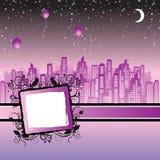 Cityscape frame Stock Photo