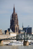 Cityscape of Frankfurt Royalty Free Stock Photos